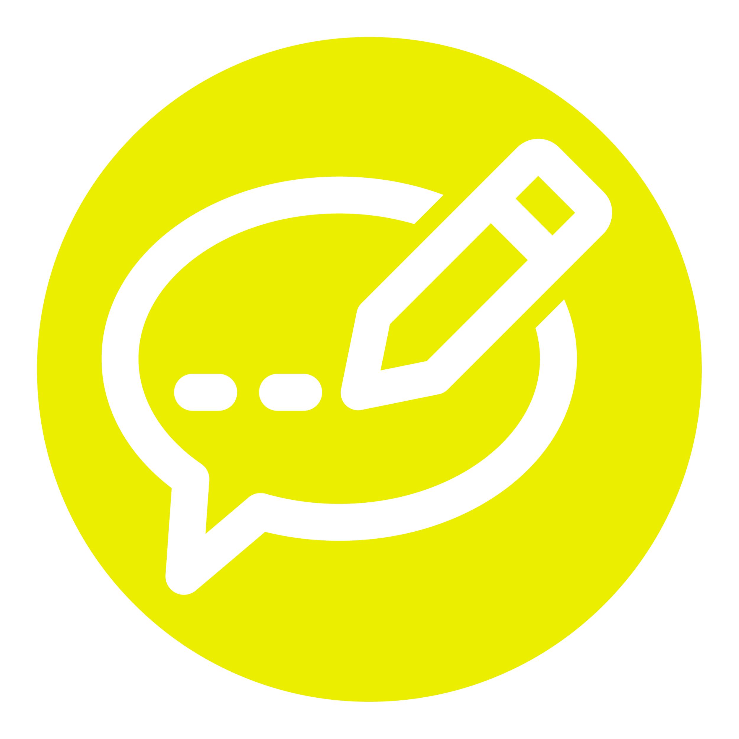 icona MicroBlog yellow