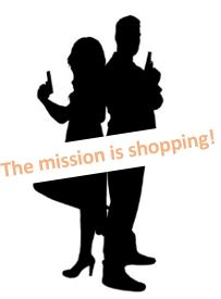 the mission is shopping